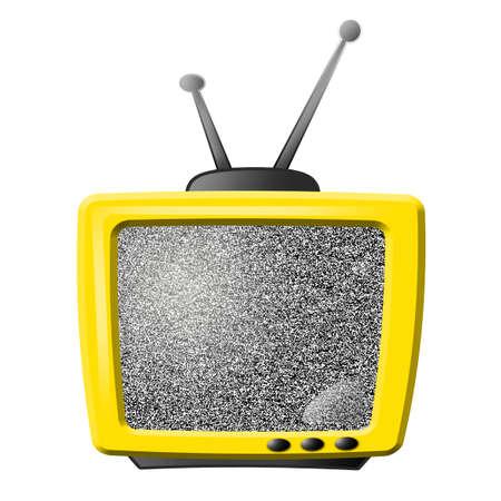 yellow tv (noise)