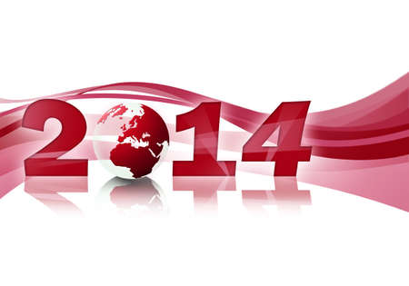 2014 red Stock Photo