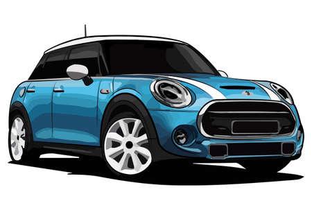speed car: Blue Car