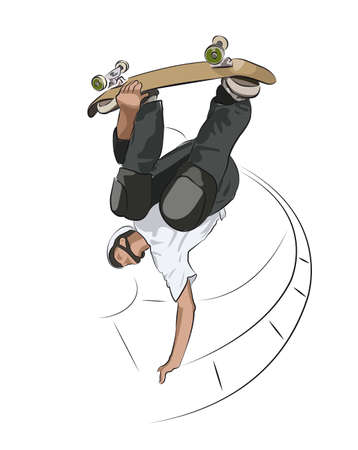 skateboard Illustration