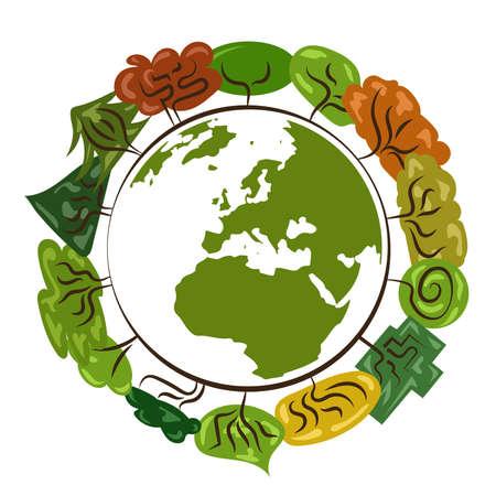 Save the planet Illustration