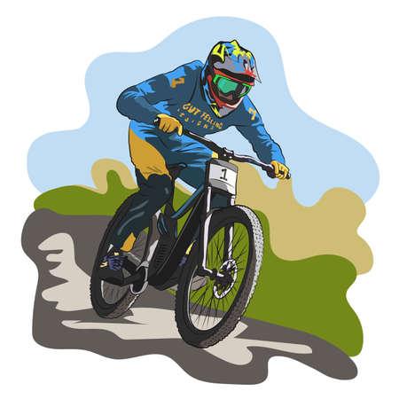 Downhill bikes