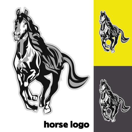Horse logo Illustration
