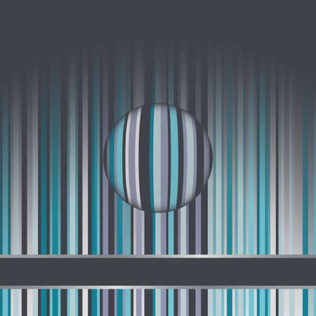 pinstripe: Abstract  background  Illustration