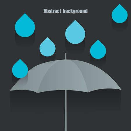 umbrella illustration Vector