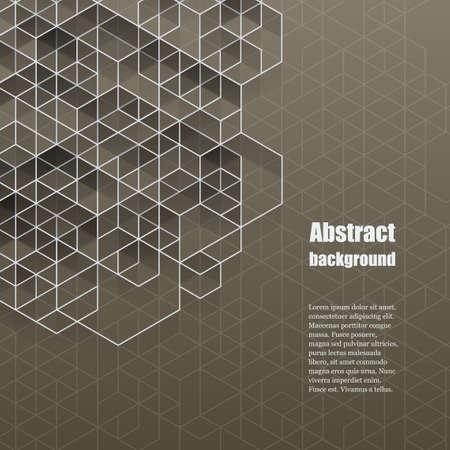 cuadrados: Ilustración vectorial Eps10