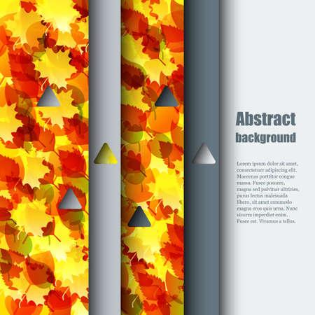 hintergrund herbst: Herbst Hintergrund. Illustration