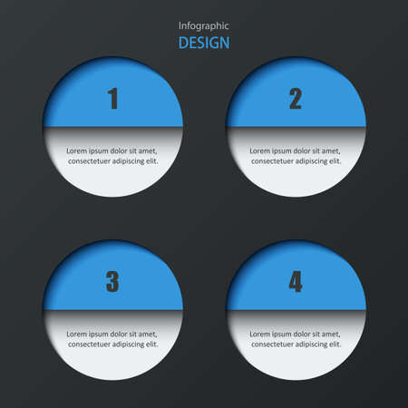 Infographics design. Vector