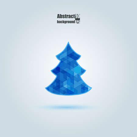 Christmas card. Eps10 Vector illustration
