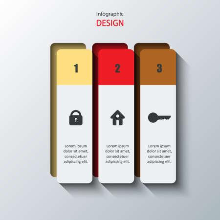 option key: Infographics design.