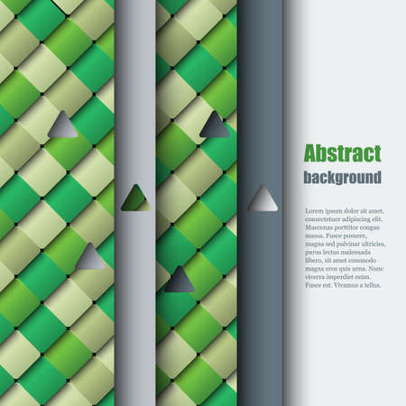 tile flooring: Brochure template with abstract background Illustration