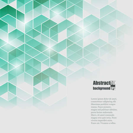 幾何学的パターンと抽象的な背景。