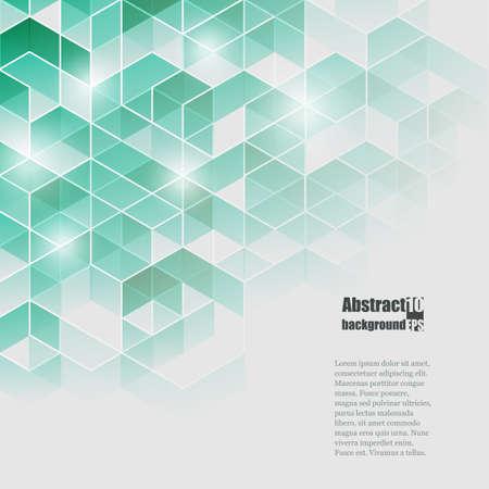 abstrakte muster: Abstrakter Hintergrund mit geometrischen Muster. Illustration
