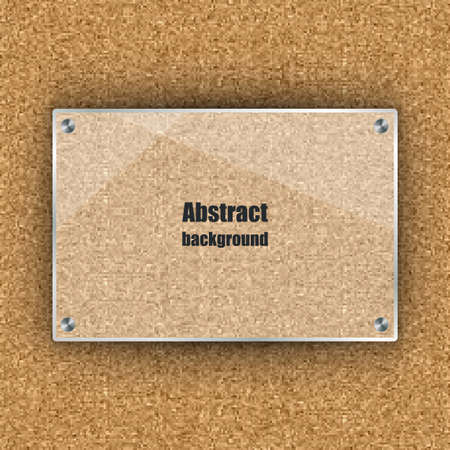 memory board: Abstract  background