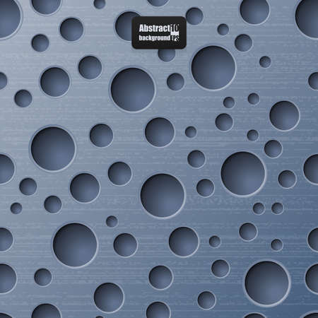 holes: Abstract background with holes.