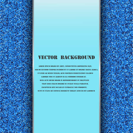 corkboard: Brochure template with abstract background Illustration