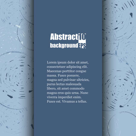 sawing: Brochure template with abstract background. Illustration