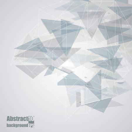 design elements: Abstract  background with geometric pattern.