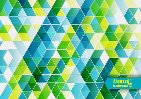 green building: Abstract background with geometric pattern.