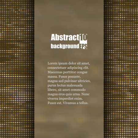 textured backgrounds: Brochure template with abstract background. Illustration