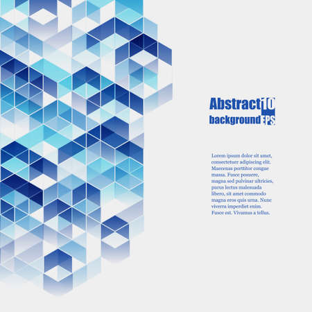 cuadrados: Fondo abstracto con el modelo geométrico.