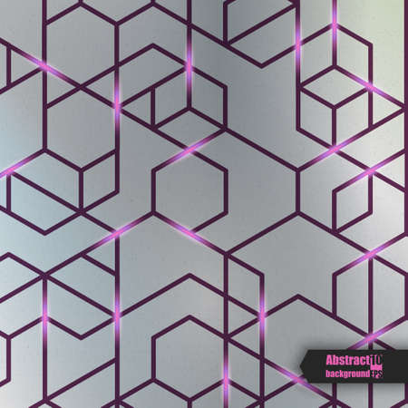 impervious: Abstract background with geometric pattern.  Vector illustration Illustration