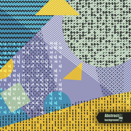 Abstract background with geometric pattern. Eps10  illustration