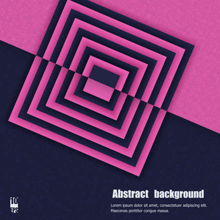contrasting: Abstract background with geometric contrasting elements. Eps10 Vector illustration