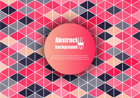 Abstract background with geometric pattern. Vector illustration