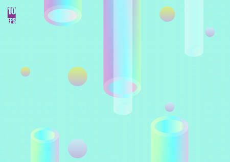 Holographic abstract background. Stylish gradient backdrop with a hologram.