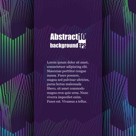 Colorful musical iIllustration. Brochure template. Eps10 Vector illustration