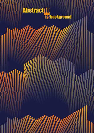 Abstract colorful musical iIllustration. Vector illustration Vektorgrafik