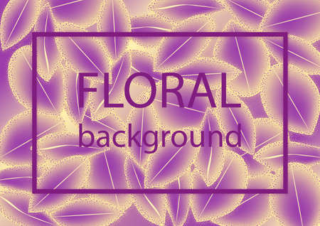 Abstract floral background with petals pattern. Eps10 Vector illustration