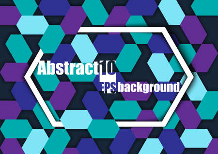 Abstract background with geometric pattern. Eps10 Vector illustration Stock Illustratie