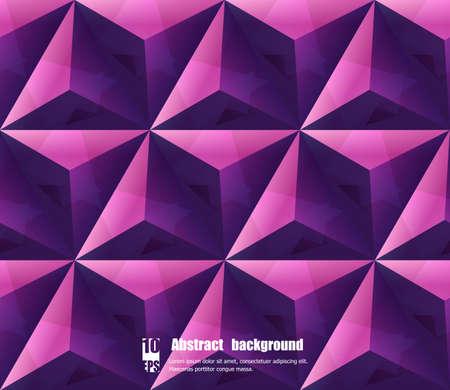 Fondo abstracto con patrón geométrico. Ilustración vectorial Eps10