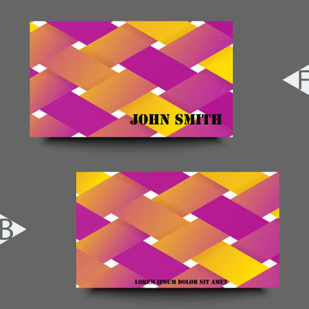 Colorful abstract 3d stripe background. Eps10 Vector illustration