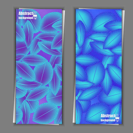 Abstract floral background with petals pattern.