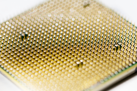 processor: CPU pins macro processor