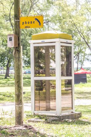 Mauritius Phone Booth
