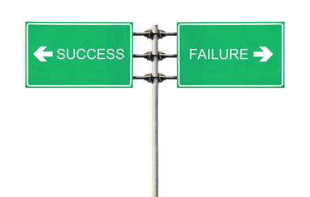 Aanmelden punten naar succes en falen