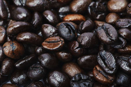 Coffee bean background Imagens