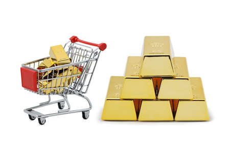 Gold shopping photo