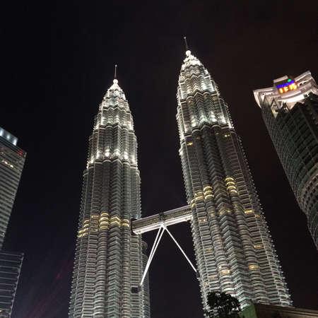 petronas: Petronas Towers Foto de archivo