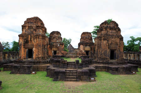 buriram: Phanom Rung stone castle ruin of Buriram, Thailand  Stock Photo