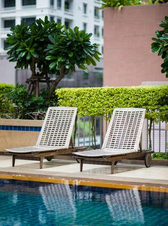 bali province: Lounge chair