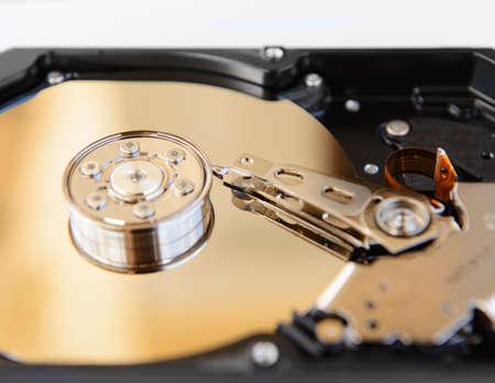 disco duro: En el interior de la unidad de disco duro