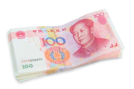 yuan: China one hundred yuan Stock Photo