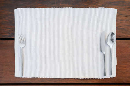 place setting: Restaurant dinner place setting