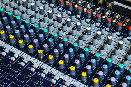 decibels: A professional audio mixing console