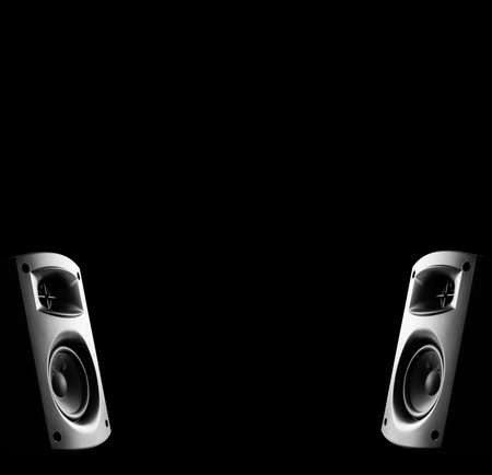 two way: Two way modern music speakers